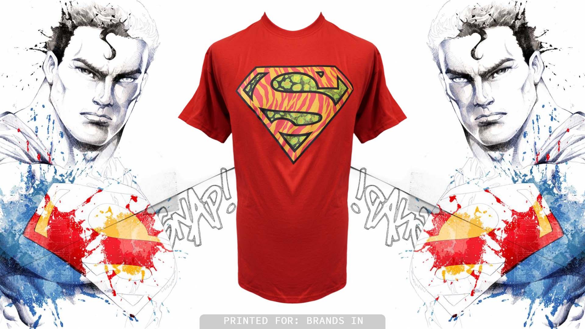 Shirt design brands - Screen Printing Superman T Shirt Printing