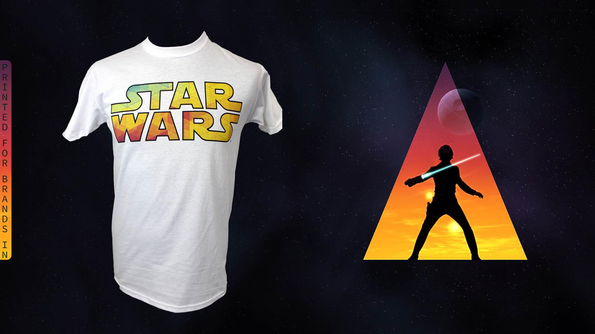 Dtg printing star wars t shirt printing fresh air for Dtg t shirt printing company