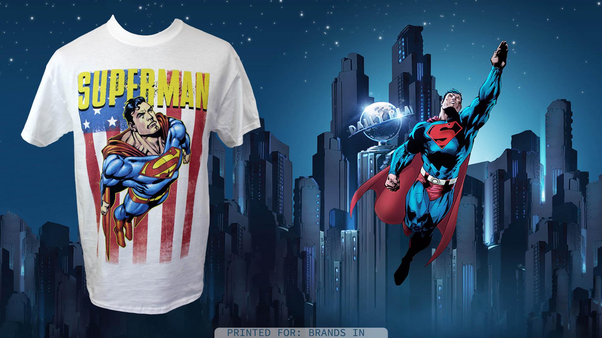 Dtg printing superman t shirt printing fresh air ltd for Dtg t shirt printing company