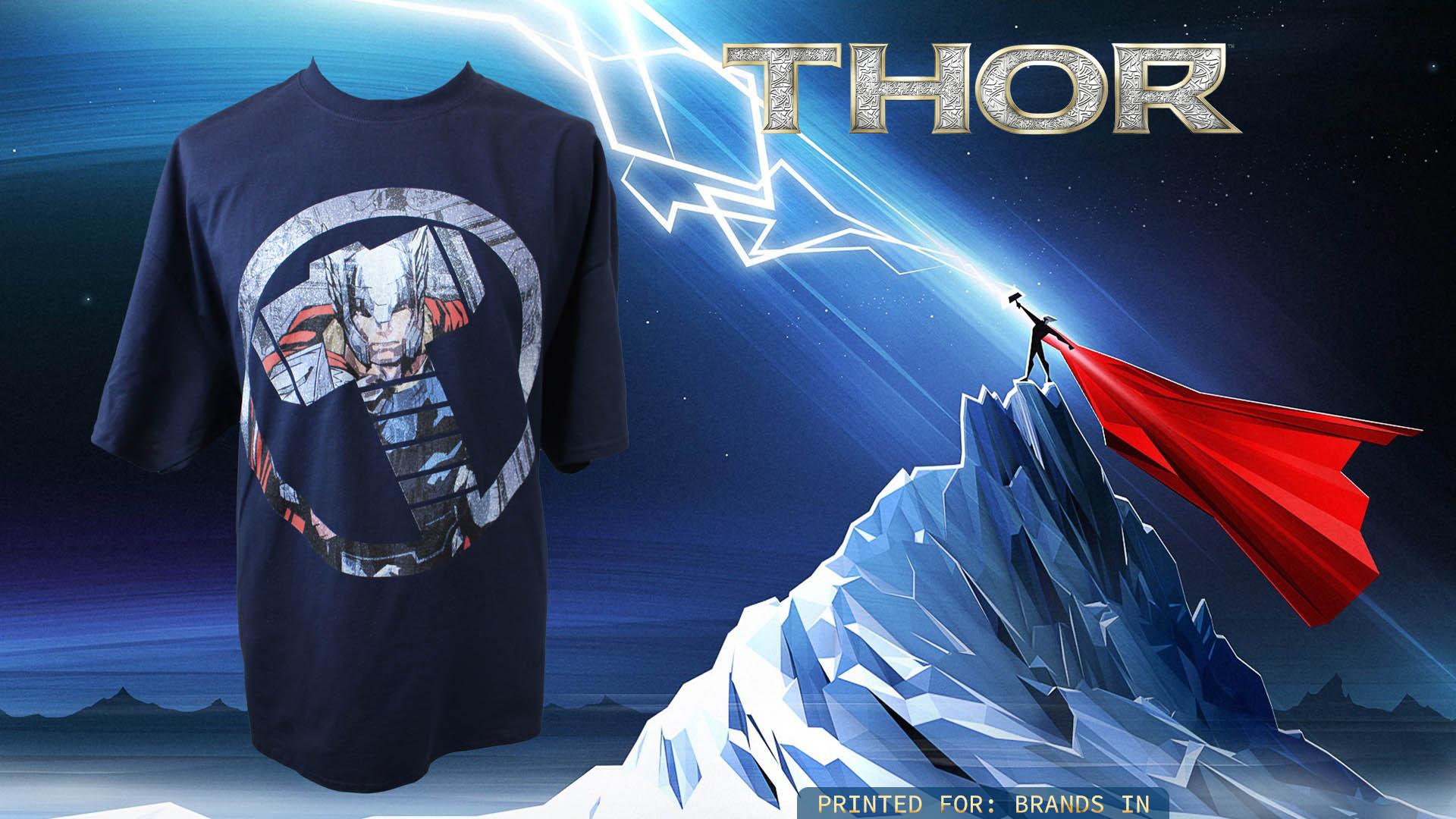 Shirt design brands - Dtg Printing Thor T Shirt Printing