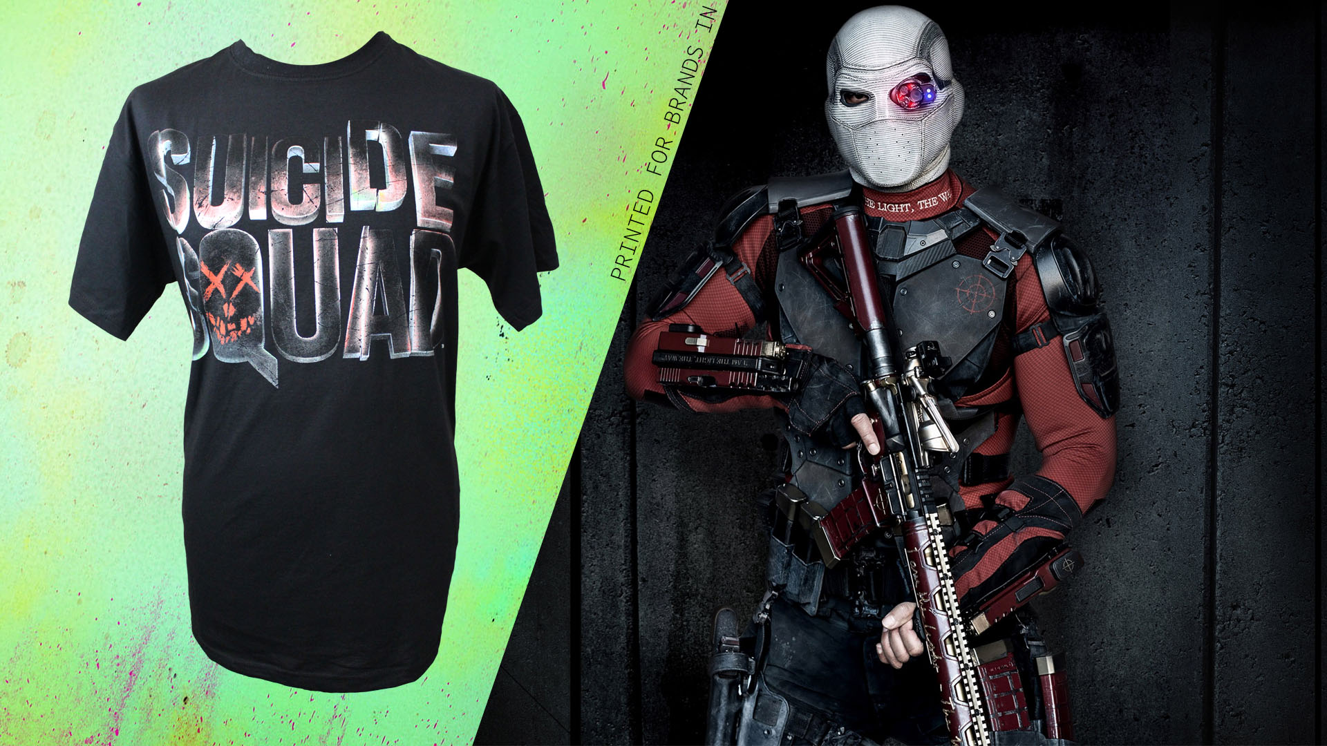 Dtg printing suicide squad t shirt printing fresh for Dtg t shirt printing company